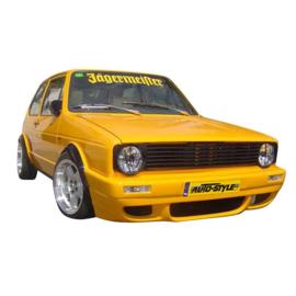 Embleemloze Grill passend voor Volkswagen Golf I 1971-1983 & Cabrio 1983-
