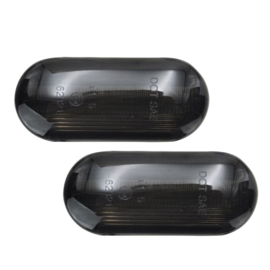 Set LED Zijknipperlichten - passend voor VAG/Ford Diversen - Smoke - incl. Dynamic Running Light