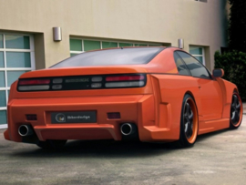 "Rear Wheel Arches Nissan 300ZX ""VAPOR WIDE"" iBherdesign"