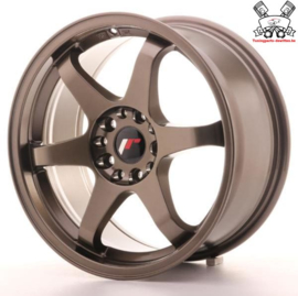 JR-Wheels JR3 Bronze 16 Inch 8J ET25 5x100/114.3
