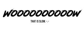 Wooooow That Is Slow