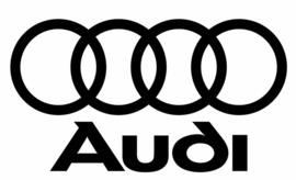 Audi Logo + Tekst