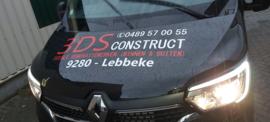 Belettering Bedrijfswagen Renault 3DSCONSTRUCT