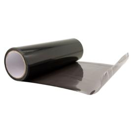 Koplamp / achterlicht folie Licht Zwart 100x30cm