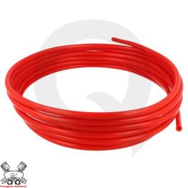 Vacuum slang (keuze uit diverse diameters) Rood