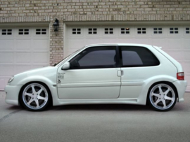 "Side Skirts Citroen Saxo ""WARRIOR WIDE"" iBherdesign"