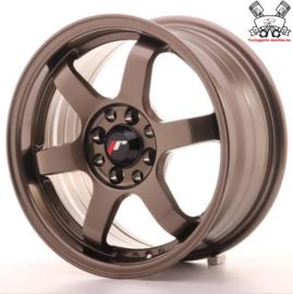 JR-Wheels JR3 Bronze 15 Inch 7J ET40 4x100/114.3