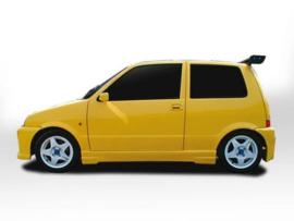 "Side Skirts Fiat Cinquecento ""SAVAGE"" iBherdesign"