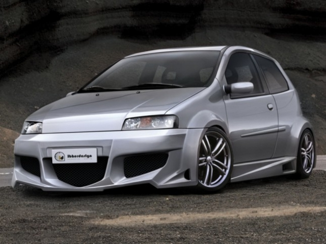 "Front Bumper Fiat Punto II ""PHAZER WIDE"" iBherdesign | Fiat"