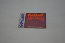 Radar Mission (GB USA MANUAL)