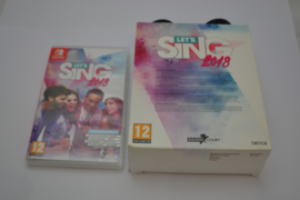 Lets sing 2018 incl 2 Wired Microphones (SWITCH EUR CIB)