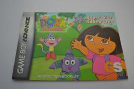 Dora the Explorer - Super Star Adventures (GBA USA MANUAL)