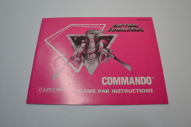 Captain Commando (NES USA MANUAL)