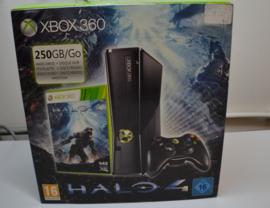 XBOX 360 Slim 250GB Console Set -Halo 4 Pack  (Boxed)