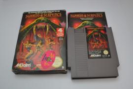 Swords and Serpents (NES FRA CIB)