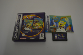 2 games in 1 SpongeBob square pants (GBA UKV CIB)