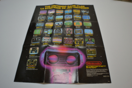 The Nintendo Gameplan Poster ROB