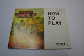 Operation Wolf (NES FRA MANUAL)