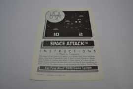 Space Attack (ATARI MANUAL)