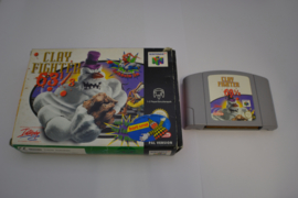 Clay Fighter 63 1/3 (N64 EUR CB)