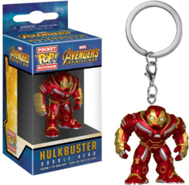 Pocket POP! Keychains: Hulkbuster Bobble Head - Avengers Infinity War NEW