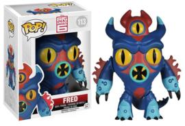 POP! Fred 0 Big Hero 6 - NEW (113)