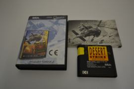 Desert Strike - Return to The Gulf Classics  (MD CIB)