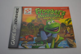 Frogger's Adventures - Temple of the Frog (GBA USA MANUAL)