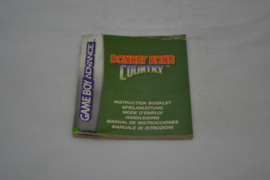 Donkey Kong Country (GBA NEU6 MANUAL)