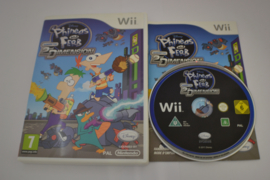 Disney Phineas and Ferb Across 2nd Dimension (Wii FAH)