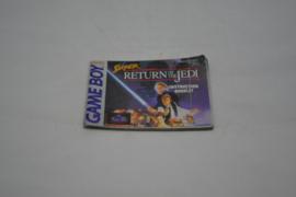 Super Star Wars Return of the Jedi (GB EUR MANUAL)