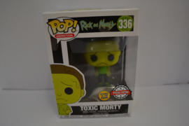 POP! Toxic Morty - Rick and Morty - Glows in the Dark Special Edition NEW