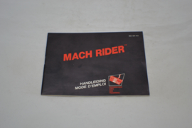 Mach Rider (NES FAH MANUAL)