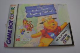 Pooh & Tigger's Hunny Safari (GBC EUR MANUAL)
