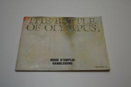 Battle of Olympus (NES FAH MANUAL)