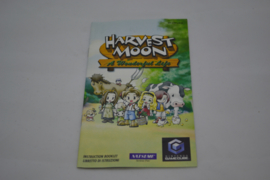 Harvest Moon A Wonderful Life (GC EUR MANUAL)