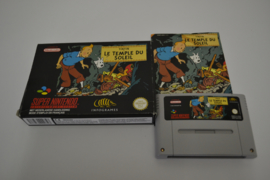Tintin Prisoners of the Sun (SNES FAH CIB)
