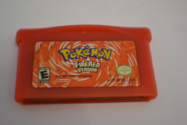 Pokemon Firered Version (GBA USA)