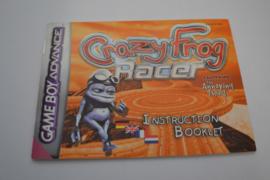 Crazy Frog - Racer (GBA EUR MANUAL)