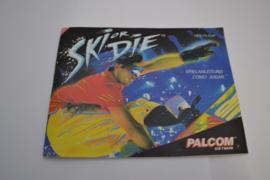 Ski Or Die (NES ESP MANUAL)