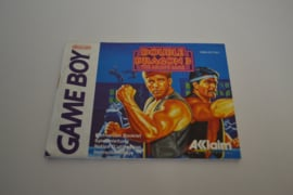 Double Dragon III (GB FAH MANUAL)