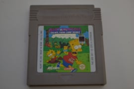 Bart Simpson's - Escape From Camp Deadly (GB FAH)