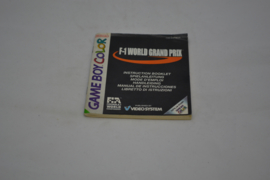 F1 World Grand Prix (GBC NEU6 MANUAL)