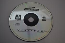 Destruction Derby - Platinum (PS1 PAL DISC)