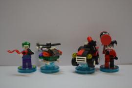 Lego Dimensions - Team Pack - DC Comics - The Joker & Harley Quinn