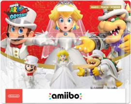 Mario + Peach + Bowser - Super Mario Odyssey