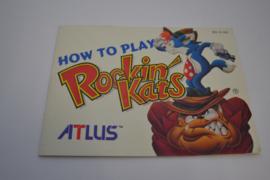 Rockin' Kats (NES USA MANUAL)