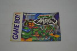 Teenage Mutant Ninja Turtles II - Back From The Sewers (GB ASI MANUAL)