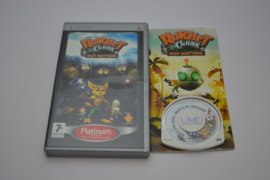 Ratchet & Clank Size Matters - Platinum (PSP PAL CIB)
