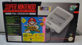 Super Nintendo Controle Set with 2 controllers and Super Mario World + Starwing